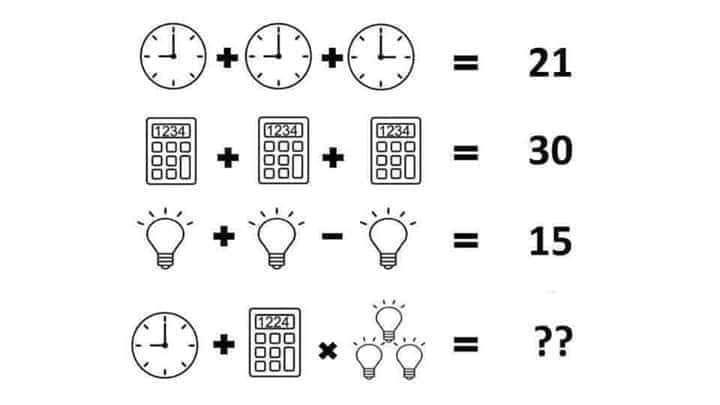Jawaban Puzzle Jam Kalkulator Lampu Curious Mind